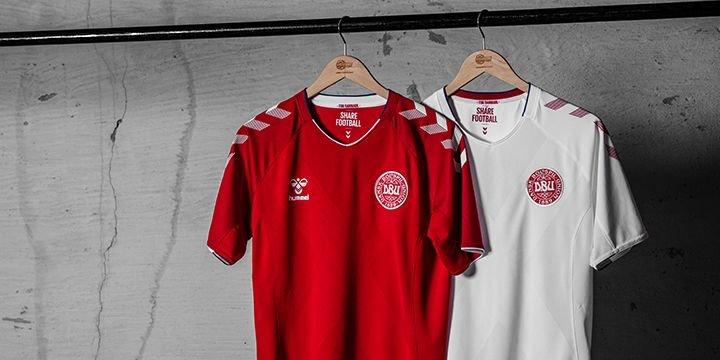 fa663cdf2 Denmark national team shirt - Buy your Denmark shirt at Unisport