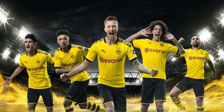 Dortmund shirts - Look at our big online Dortmund shop at Unisport