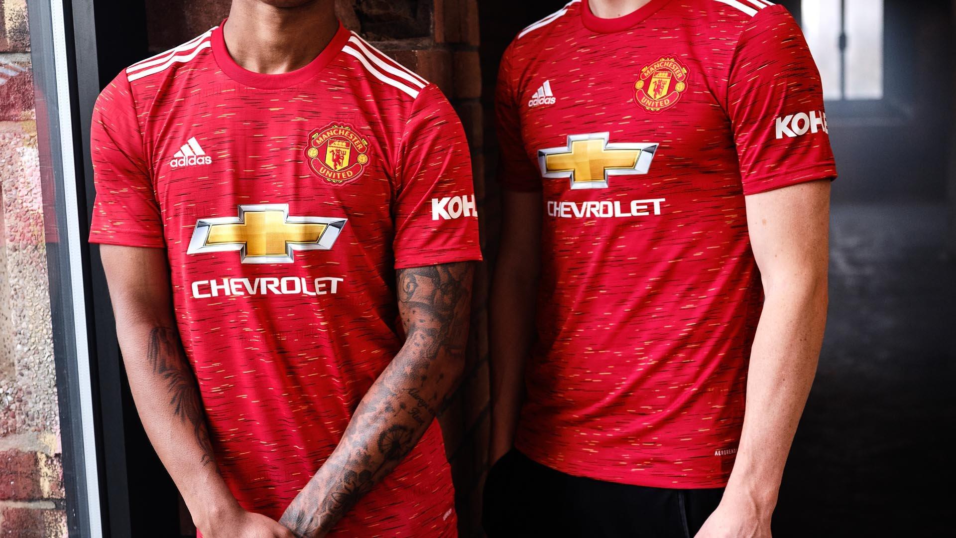 adidas introducerar en ny hemmatröja för Manchester United