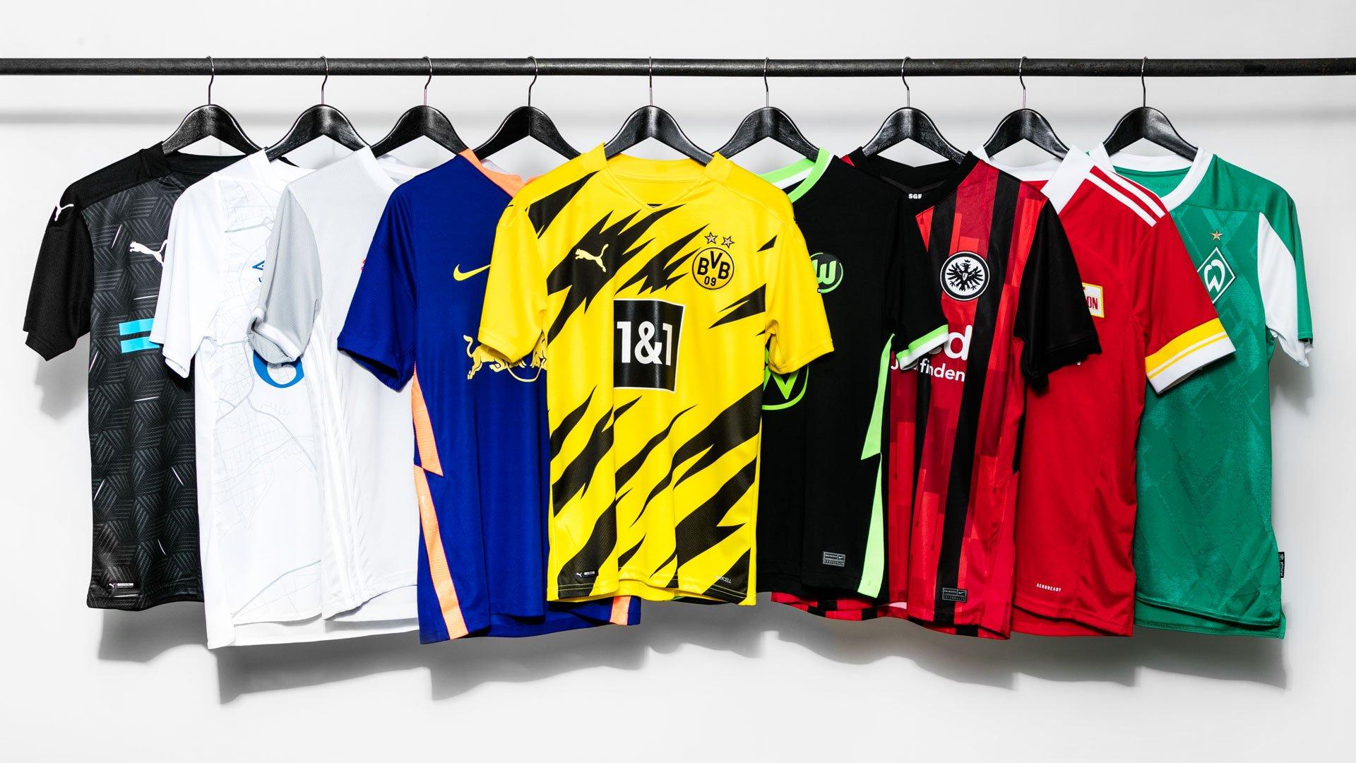 Bundesliga Trikots 2021/2021