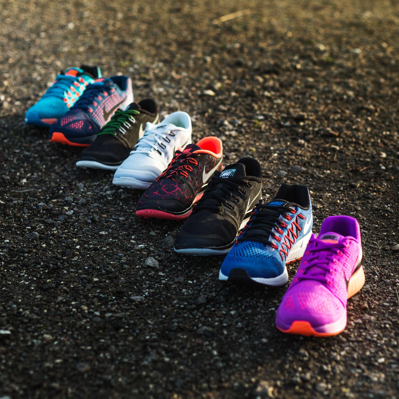 Nike Free Løpesko 5.0 Lava SortRød Barn   unisportstore.no