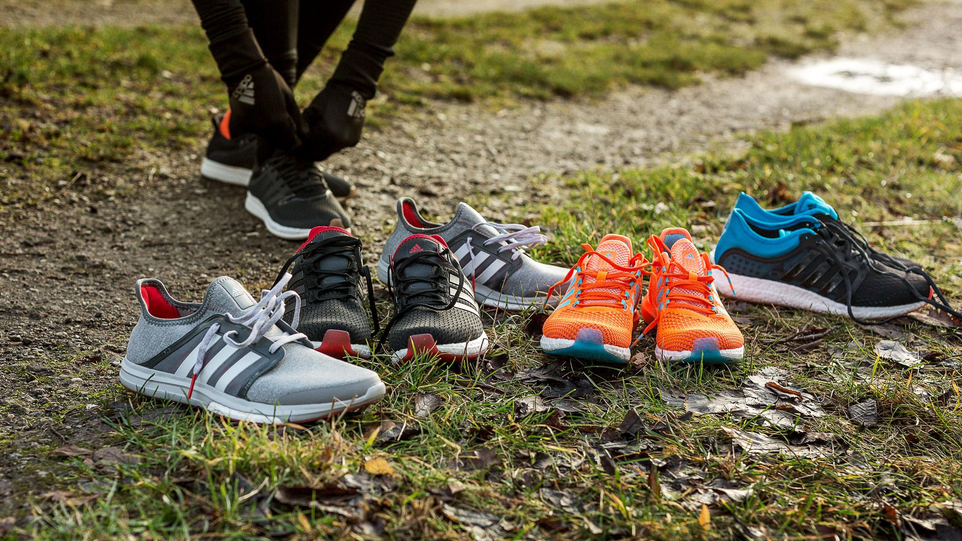 Adidas Løpesko Climachill Gazelle Boost SortRød | www