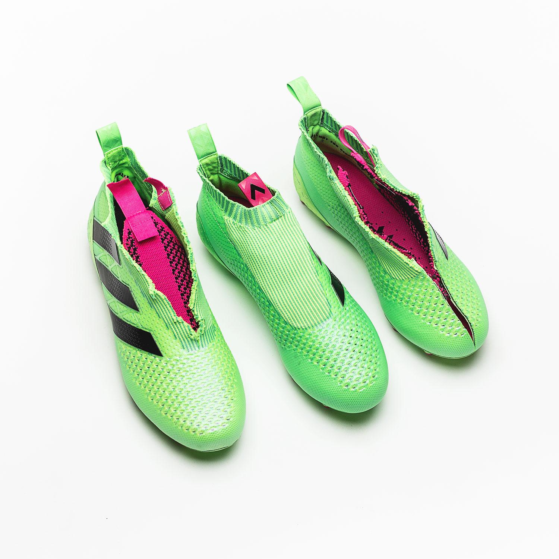 Wie bekommt der adidas ACE16+ PureControl seine Stabilität?  