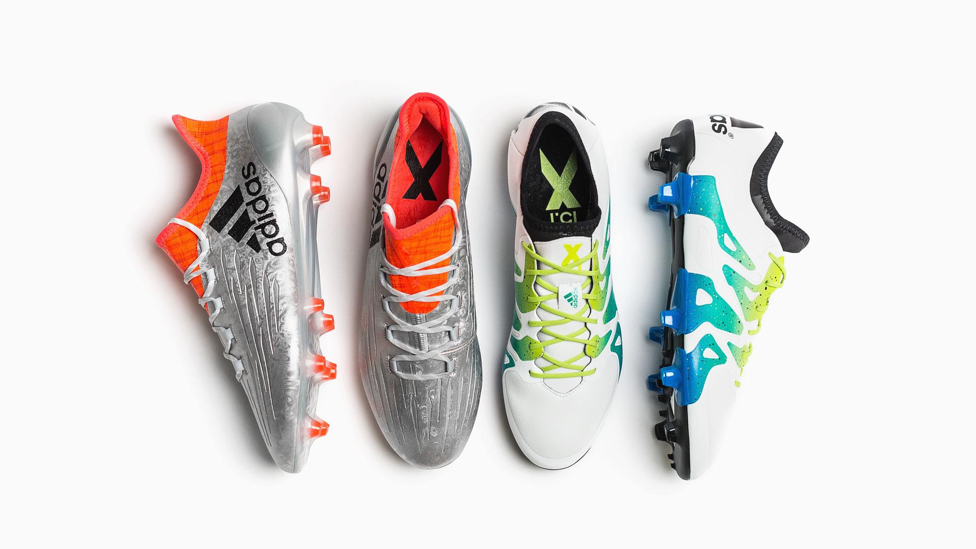 Jämförelse adidas X 15.1 och X 16.1  