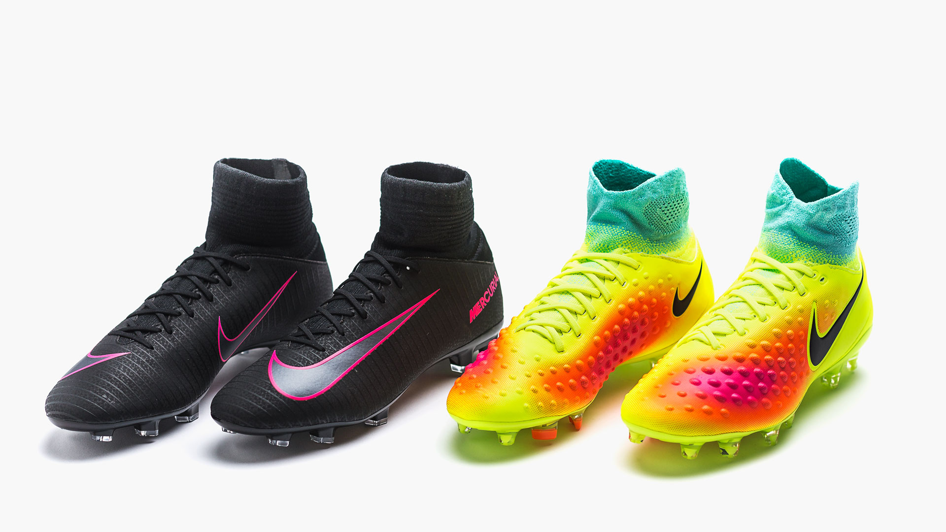 check out 4bec5 74e40 Få Nike fotbollsskor med strumpa till barn