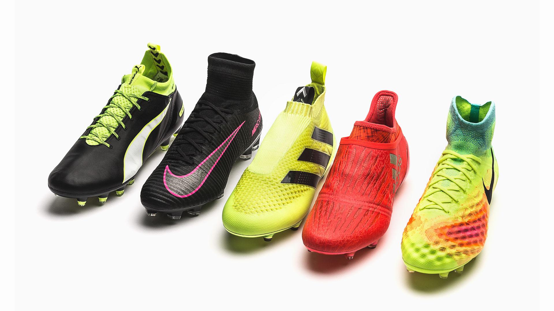 brand new 921f9 2f96d Top Five: Die beliebtesten Fußballschuhe mit Socke