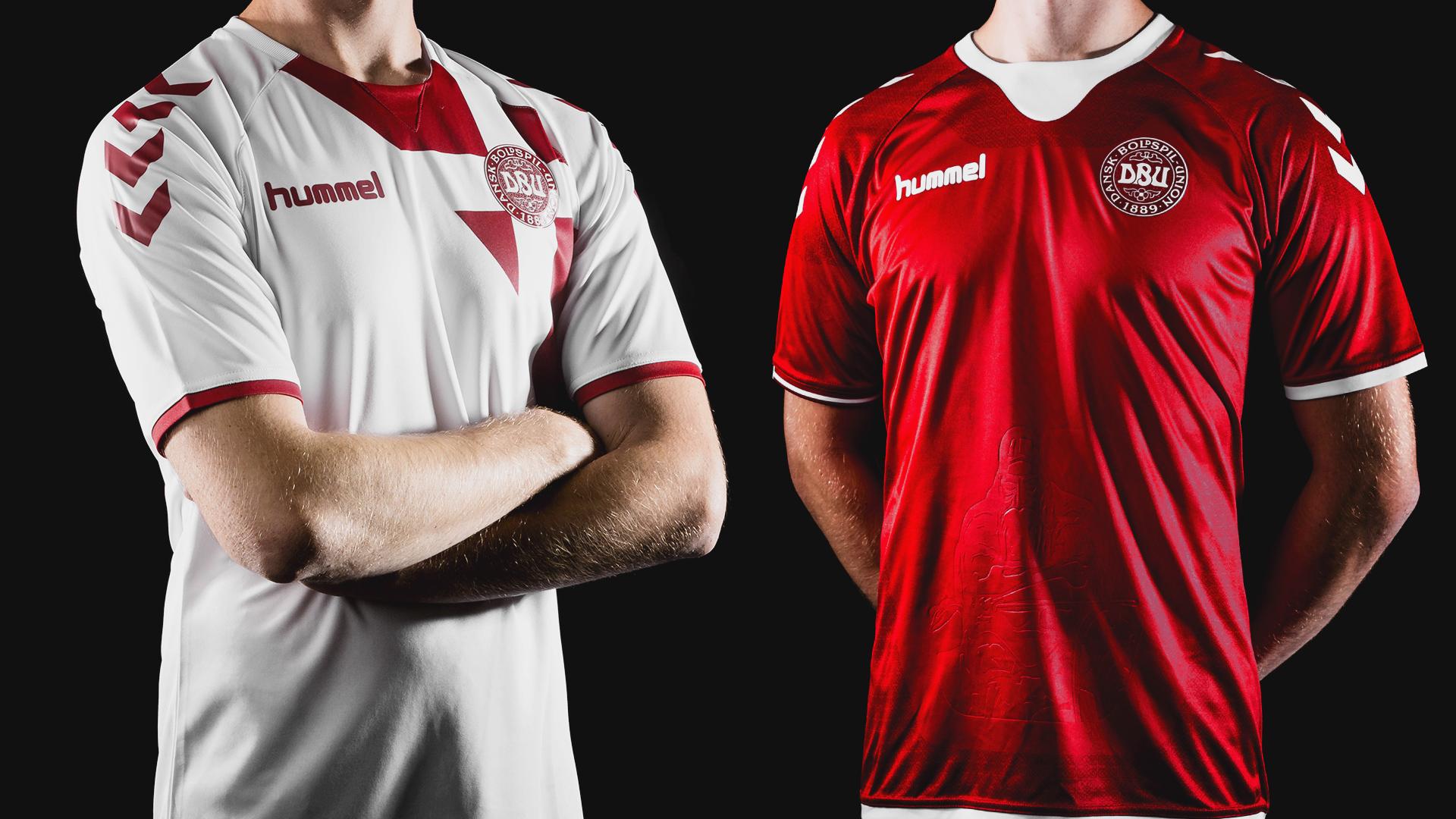 33532dd28 Denmark   Hummel present new national shirt