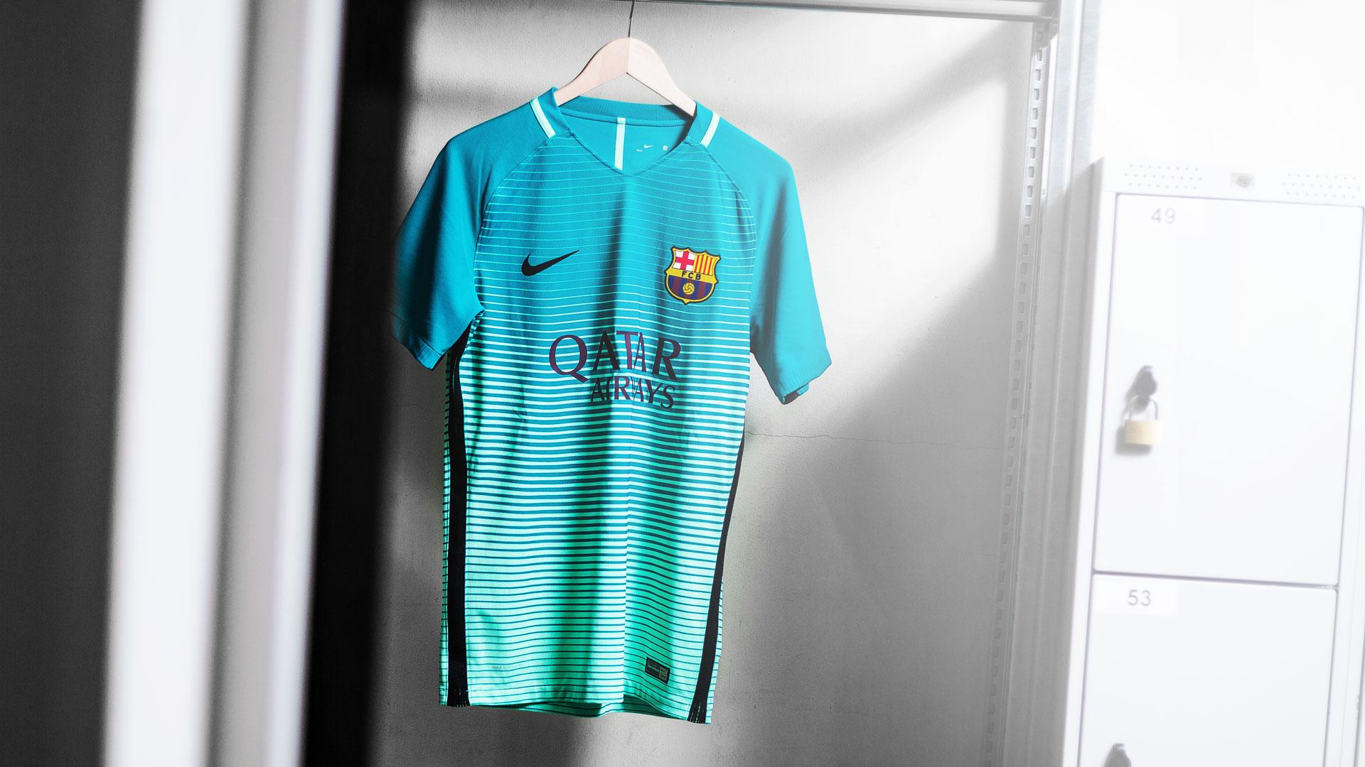 fc barcelona 3rd shirt finally released fc barcelona 3rd shirt finally released