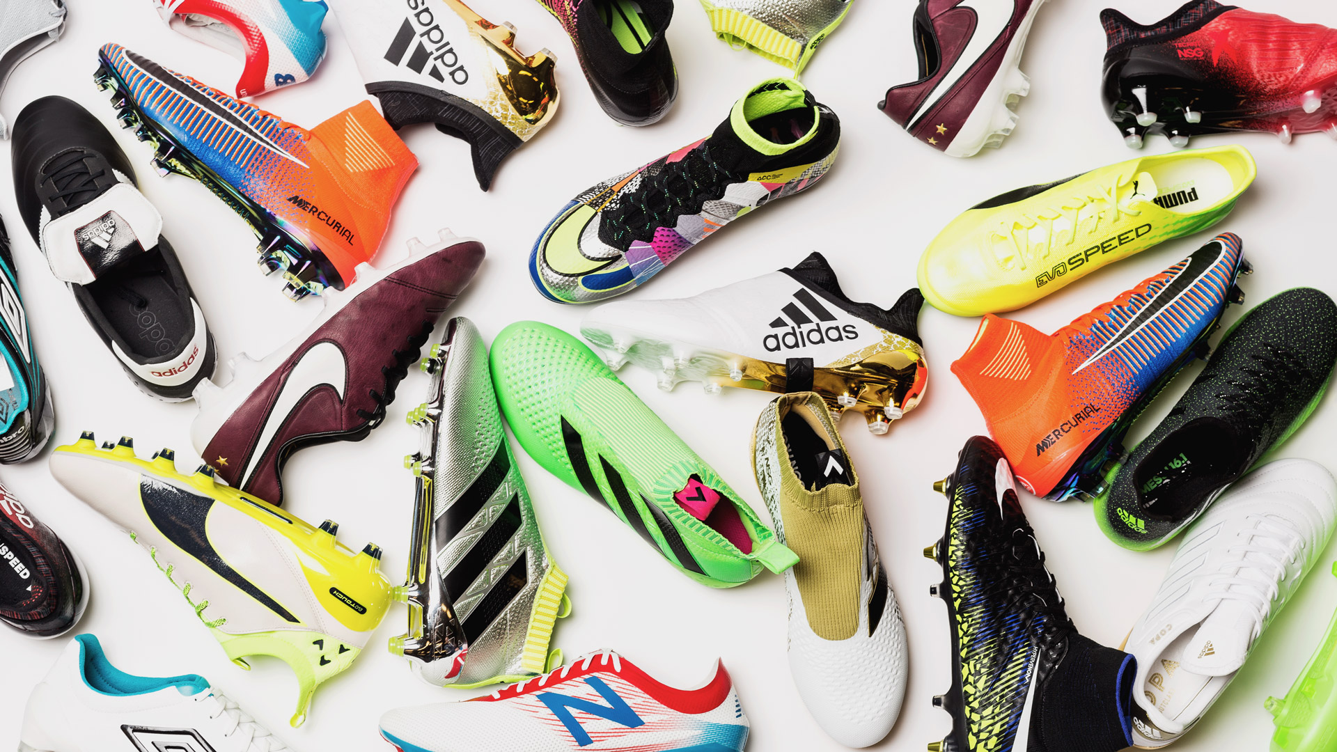 The 10 best/sickest football boots of 2016