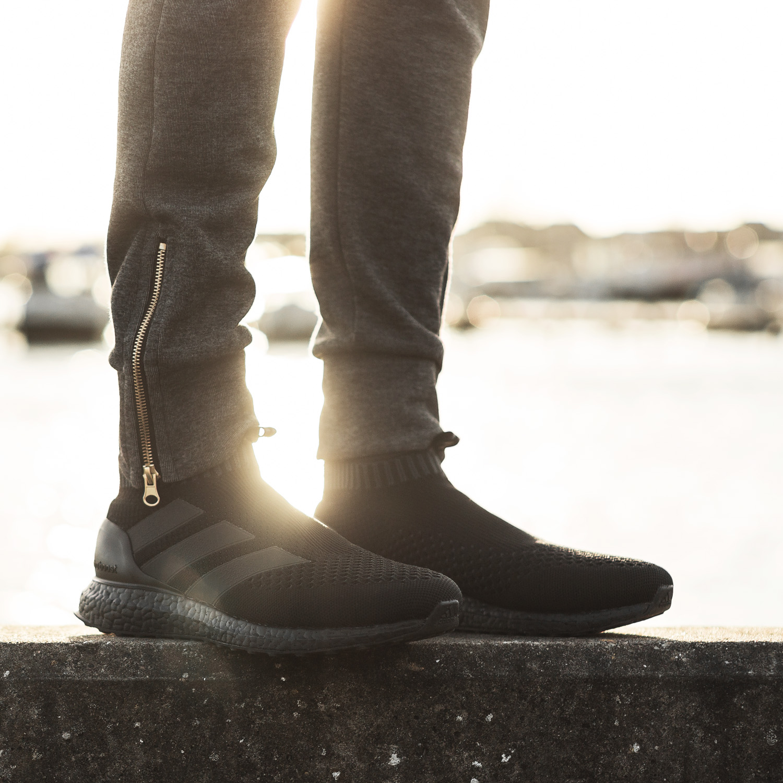 Triple Black Ultra BOOST meets adidas