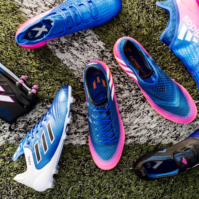 adidas lance toute la collection Blue Blast  