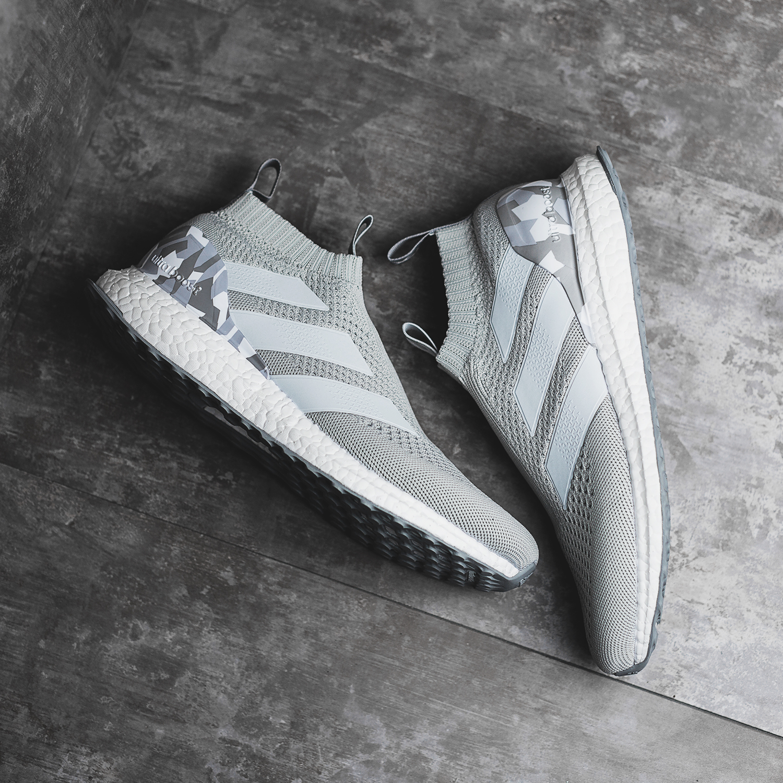 adidas ACE 16+ PureControl UltraBoost Grey Camo Sneaker