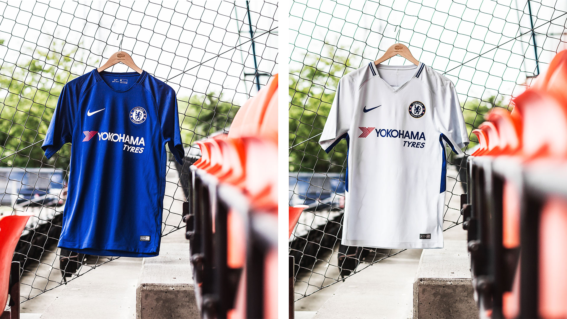 official photos be7e9 0690a Nike presents the Chelsea shirts for 2017/18