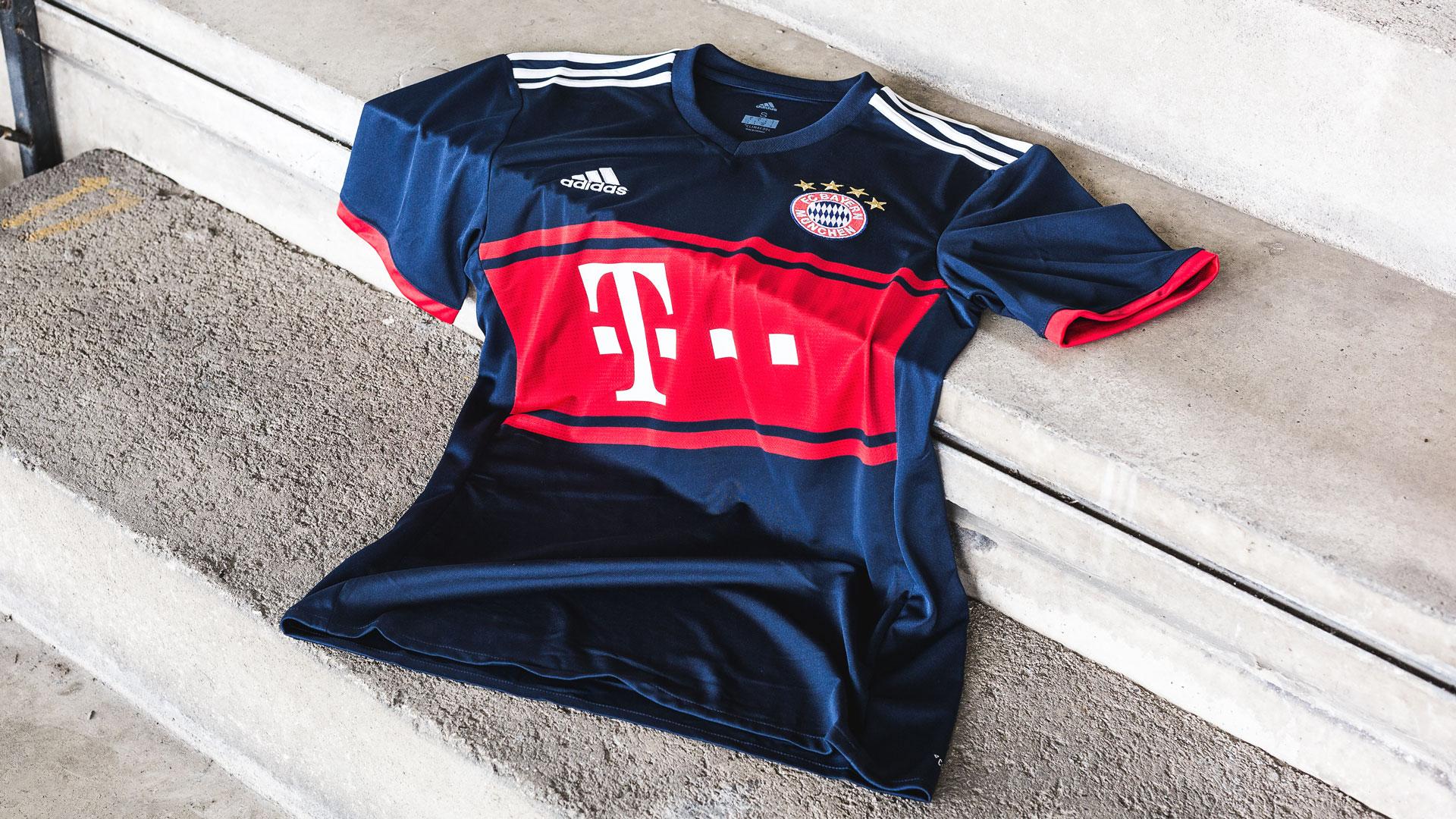 adidas lanserer ny FC Bayern München bortedrakt |