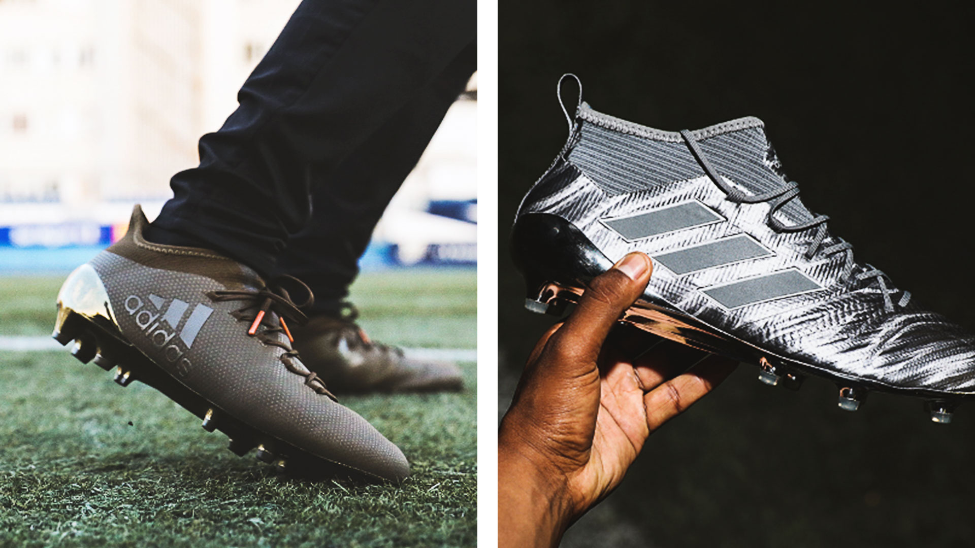more photos df741 6ffdd adidas presents new ACE and X boots