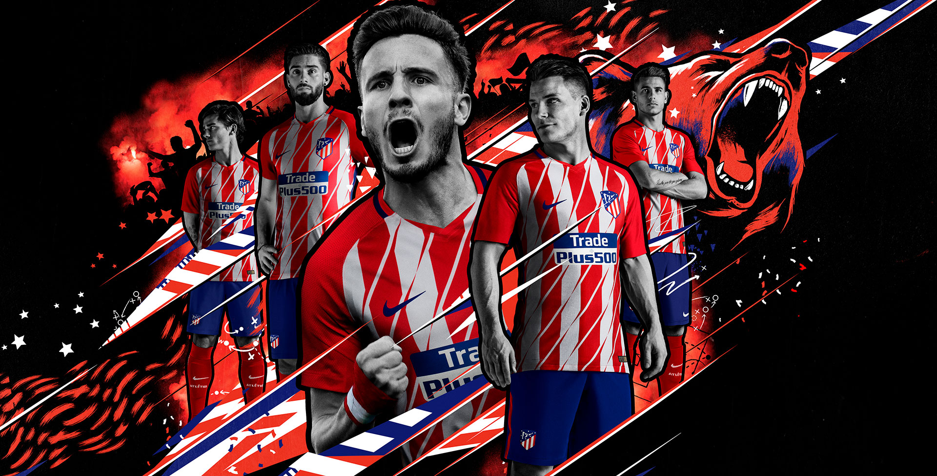 New Nike Shirts For Atletico Madrid