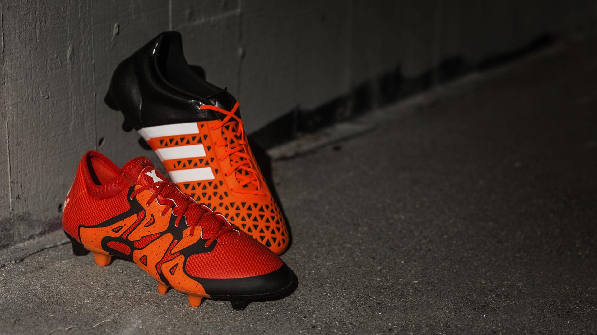 Adidas gir Ace15 og X15 samme 'Solar Orange' design som