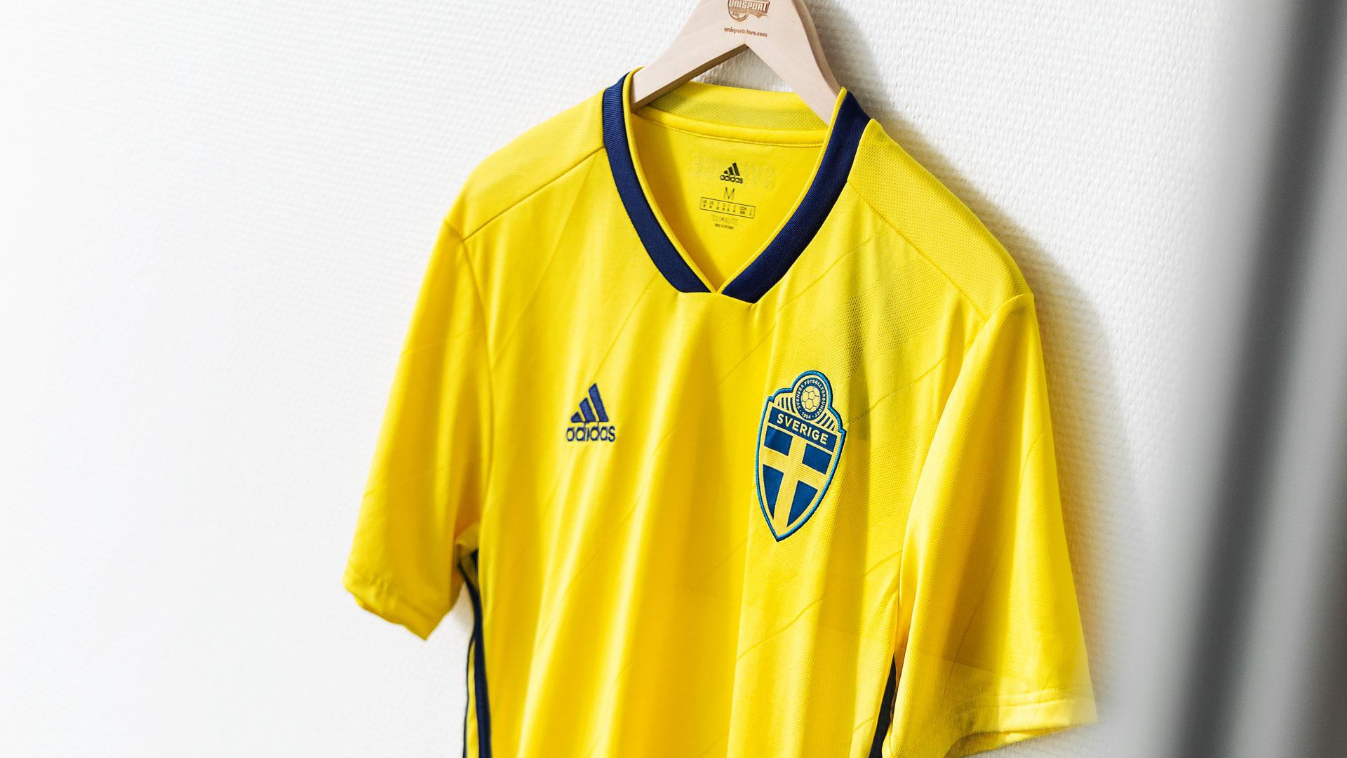 adidas Schweden Trikot Home WM 2018 Gelb