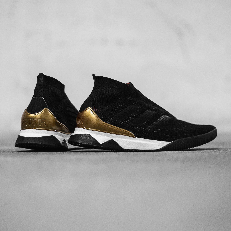 footwear new styles special sales adidas präsentiert den Predator Tango 18+ Boost Sneaker