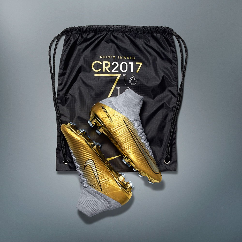 60bb11b75 prev next. 1000 pairs of the individually numbered Nike Mercurial CR7  Quinto Triunfo ...