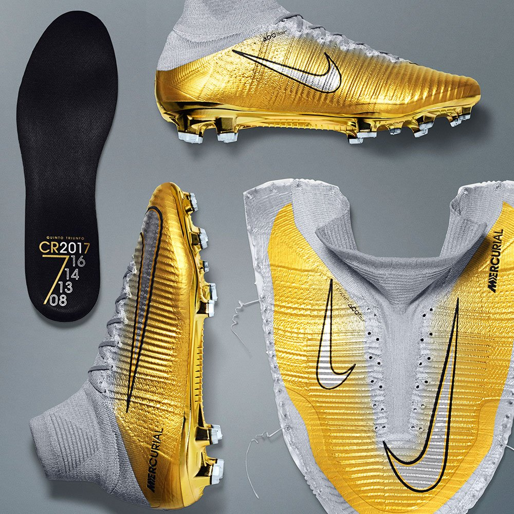 outlet store 50% off the best attitude Nike present the CR7 Mercurial 'Quinto Triunfo'