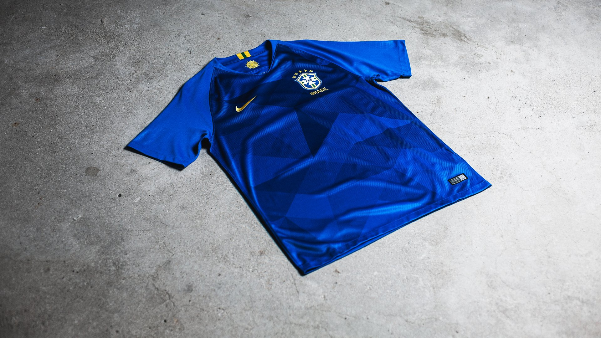 f7f89a272 Nike freshens up the Brazil Away Shirt. Read more about the new Away Shirt  for the 2018 World Cup!