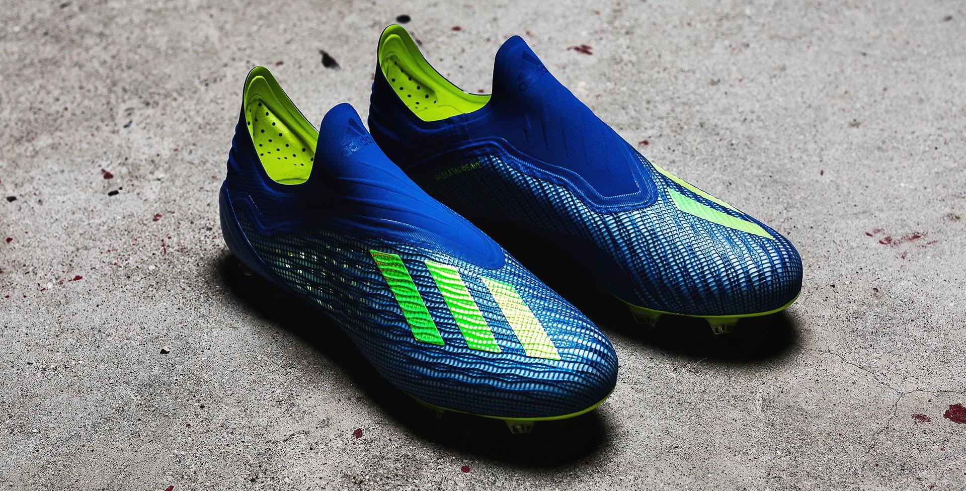 brand new 2ecd9 cbc8d Nya skor för adidas snabbaste spelare  Möt X 18+