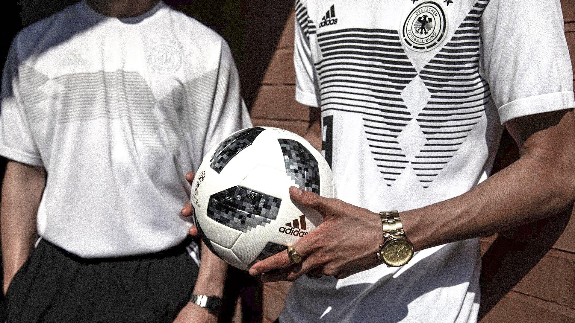 adidas DFB Deutschland Trikot Home Knit Weiss: adidas