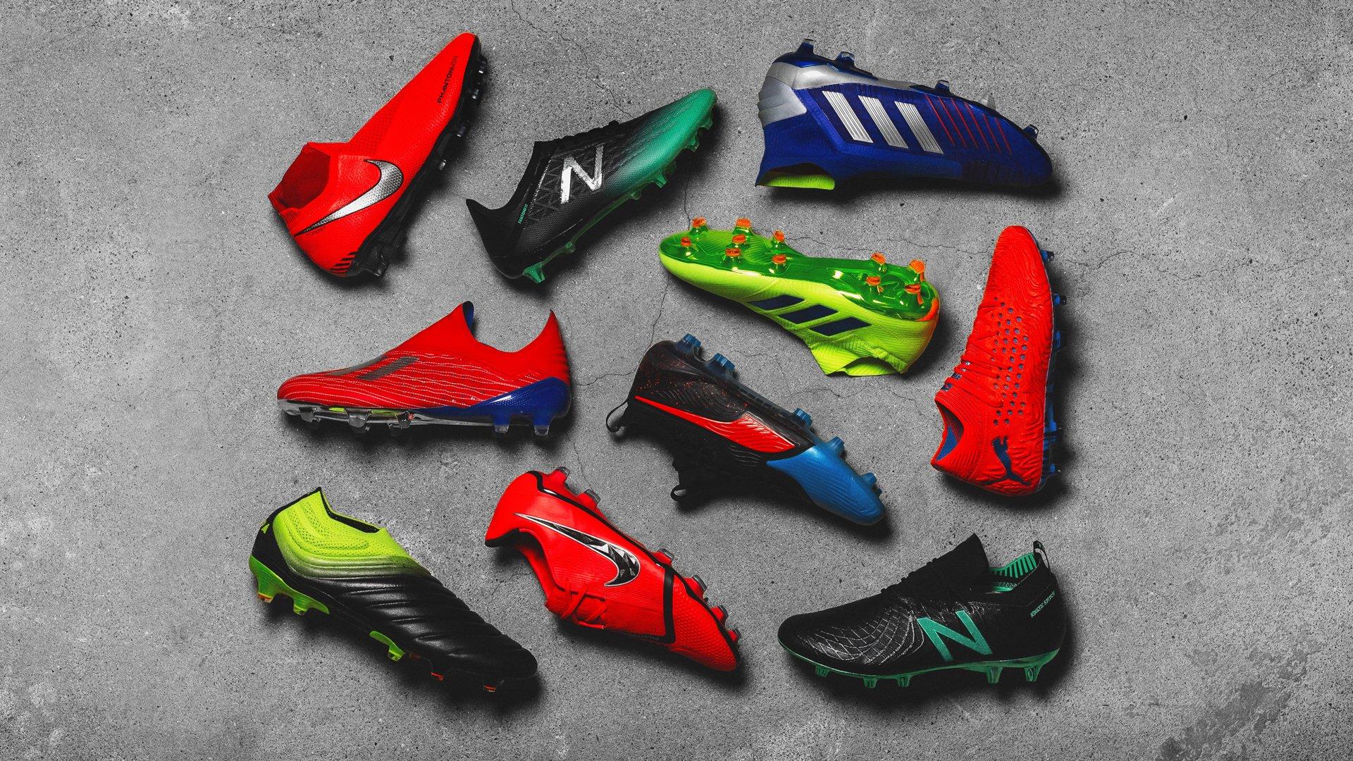 Nye fodboldstøvler | Se de seneste fodboldstøvler hos Unisport |