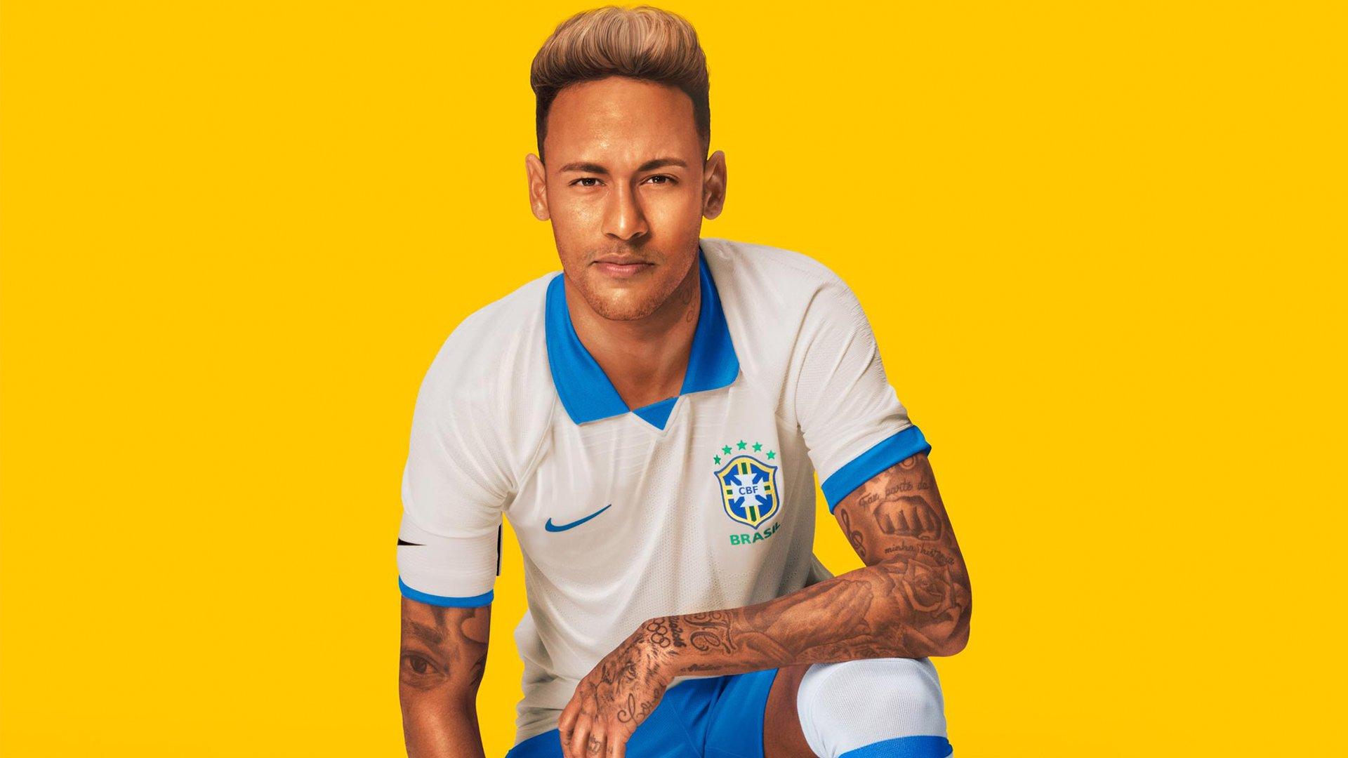 timeless design 18114 e465e Nike launches white Brazil kit