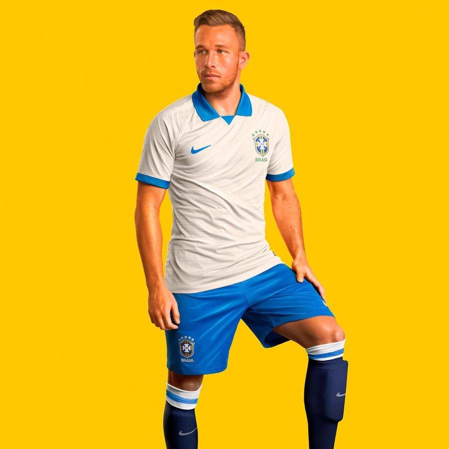 3dd722d31f13 Nike launches white Brazil kit