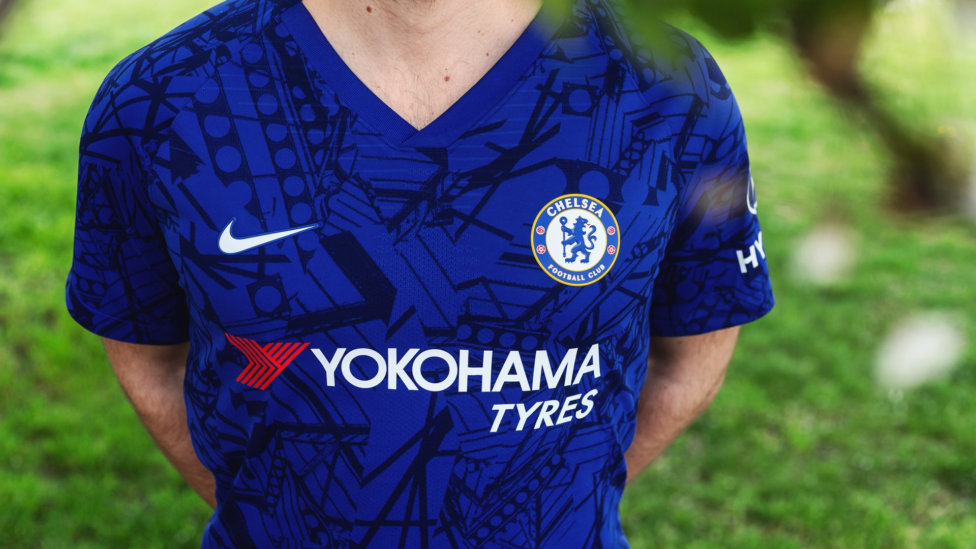 the latest ada53 e3268 Nike presents 2019/20 Chelsea Home Shirt