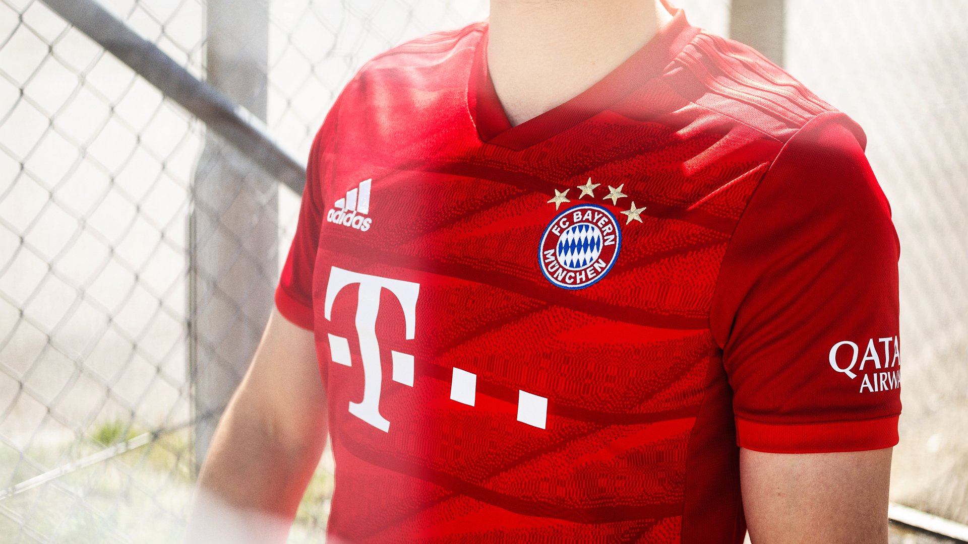 sneakers for cheap 8fc64 a54bb adidas presents the Bayern Munich home kit 2019/20