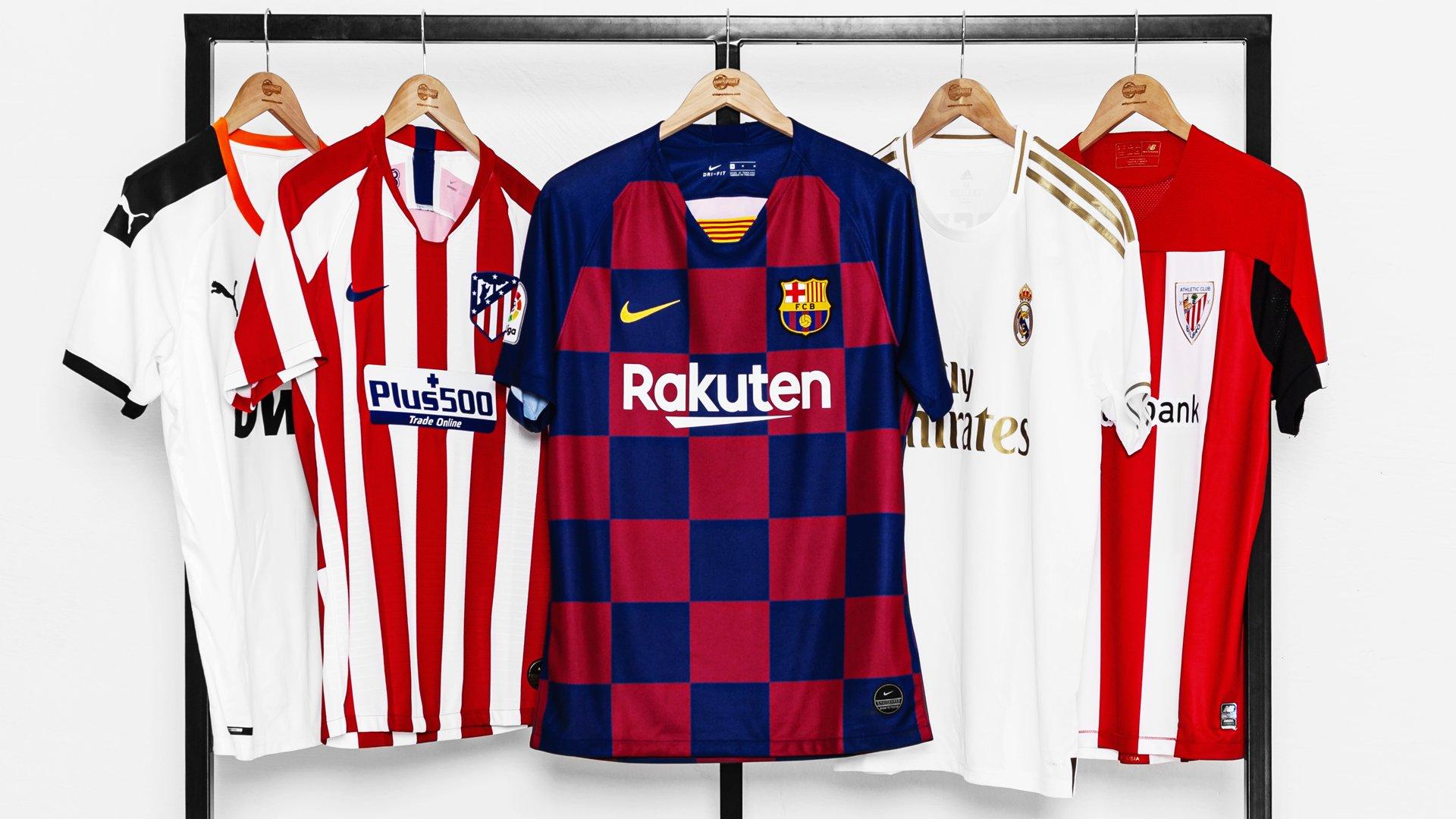 finest selection 49927 c5e16 La Liga kits 2019/20 | See all the new La Liga kits at ...