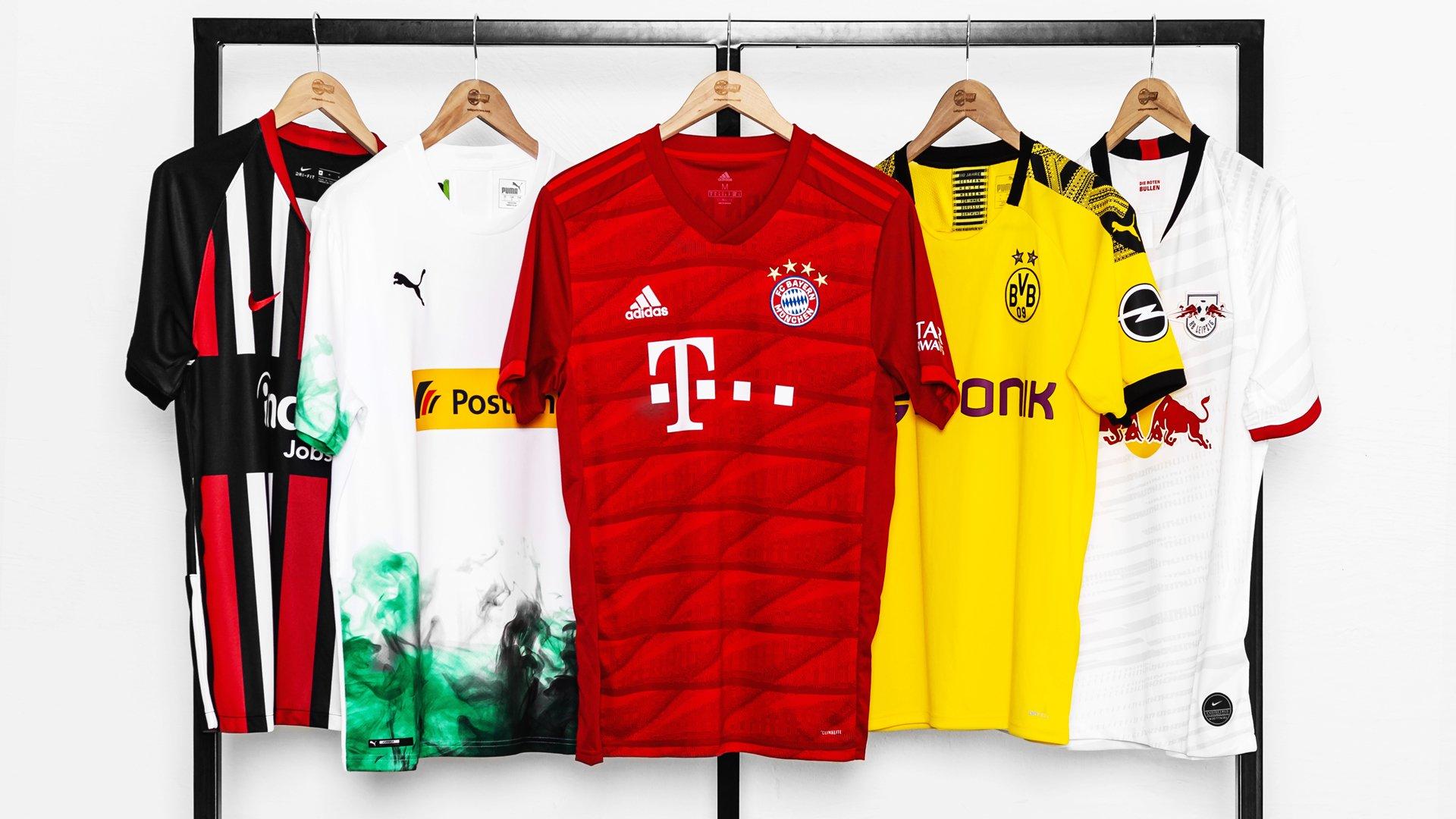 super popular 490af 8dd37 Bundesliga Trikots 2019/20 | Entdecke alle neuen Bundesliga ...