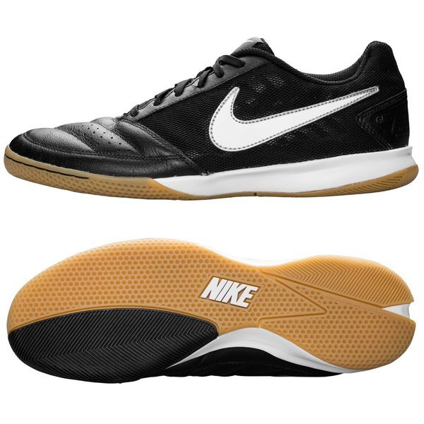 65f762b497c5dd Nike FC247 Gato II Black White-Metallic Silver. Read more about the  product. - indoor shoes. - indoor shoes image shadow