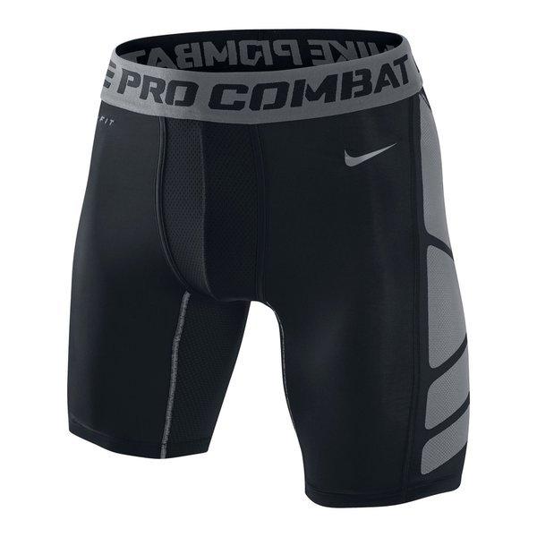 Nike Pro Combat Hypercool 2.0 Shorts 6'' BlackCool GreyCool Grey
