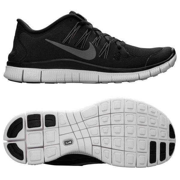 Nike Free Løbesko 5.0+ SortHvid