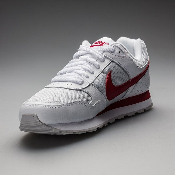 4fb159e8518 Nike MD Runner Wit/Rood | www.unisportstore.nl