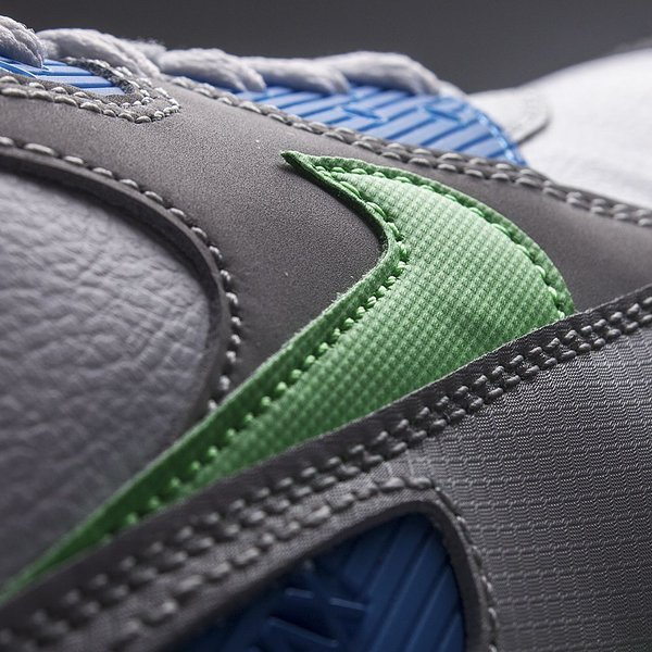 Nike Air Max 90 WhitePoison GreenPhoto BlueNatural Grey