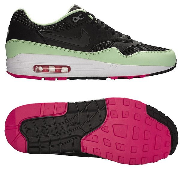 promo code 54002 36c24 Nike Air Max 1 FB BlackFresh MintPink Flash. Read more about the product.  - sneakers. - sneakers image shadow