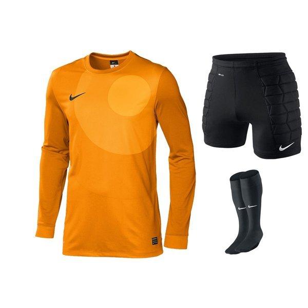 Nike Goalkeeper Kit Orangeblackblack Wwwunisportstorede
