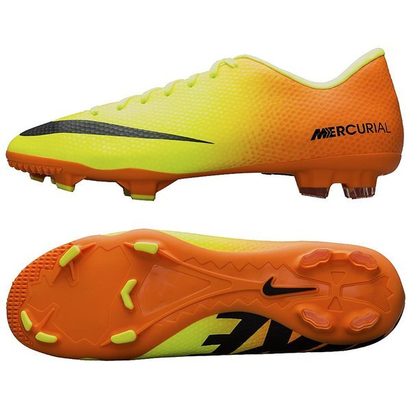 Nike Mercurial Victory IV FG Volt Black - Bright Citrus. Read more about  the product. - football boots. - football boots image shadow 7514a1ffc4069