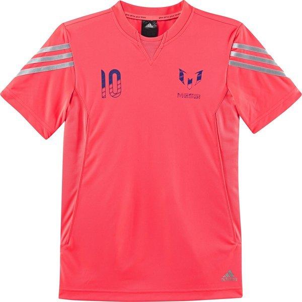 sale retailer 581d6 63e89 adidas T-shirt Messi 10 Pink Kids | www.unisportstore.com