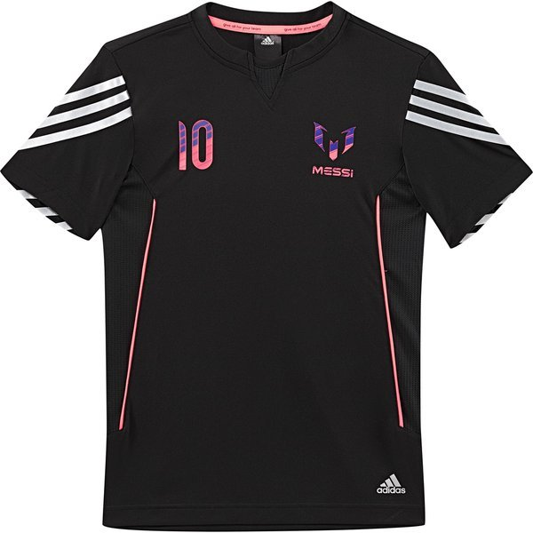 adidas tshirt messi 10 black kids wwwunisportstorecom