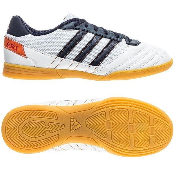 Aclarar Tibio Infectar  adidas Freefootball SuperSala White/Navy Kids   www.unisportstore.com