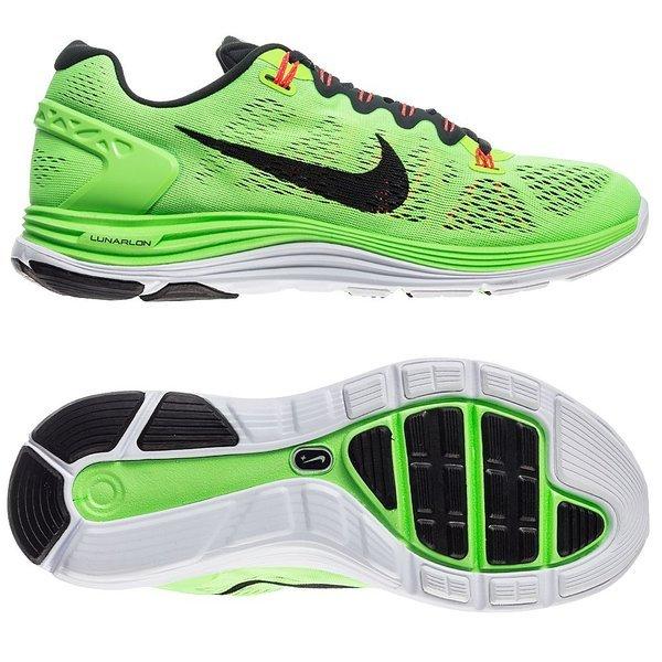 8cedf91f00682 Nike Running Shoe Lunarglide+ 5 Flash Lime Atomic Black