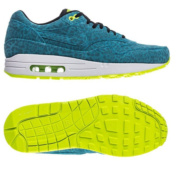 sports shoes 439d2 3a901 Nike Air Max 1 FB Current Blue Black-Volt. Read more about the product. -  sneakers. - sneakers image shadow