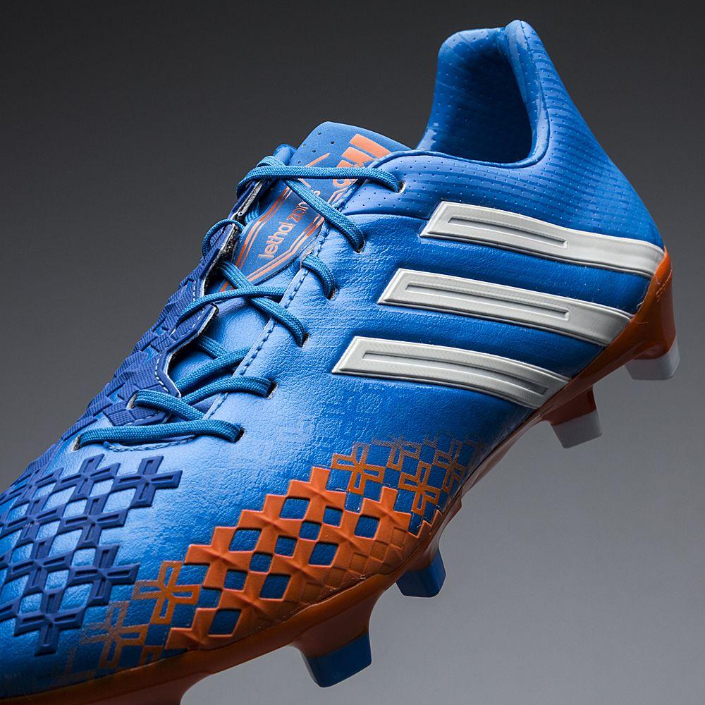 adidas predator lz fg blå orange hvid unisport.dk