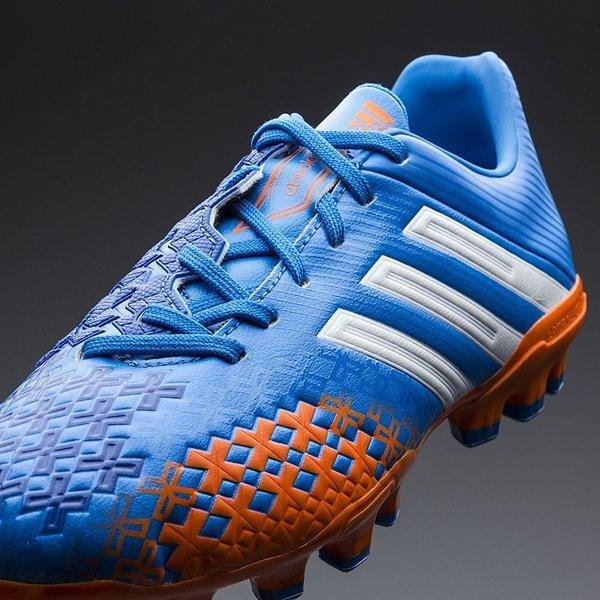 image description image description adidas predator absolado lz ag blå orange hvid børn unisport.d